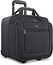 Solo New York Bryant Rolling Laptop Bag, Black, 14