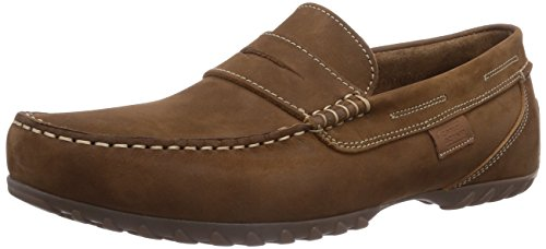 camel active Manitou 12, Herren Slipper, Braun (cigar), Gr. 40.5 EU / 7 UK