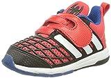 adidas Disney Spider-Man CF I, Zapatos de Primeros Pasos Unisex bebé, Rojo/Blanco/Negro (Rojint/Ftwbla/Negbas), 21