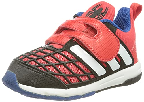adidas Disney Spider-Man Cf I, Unisex Baby Sneakers, Multicolor - Rot/Weiß/Schwarz (Rojint/Ftwbla/Negbas) - Größe: 21