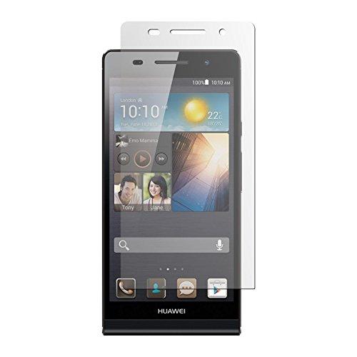 PhoneNatic 4er-Pack Bildschirmschutzfolien klar kompatibel mit Huawei Ascend P6