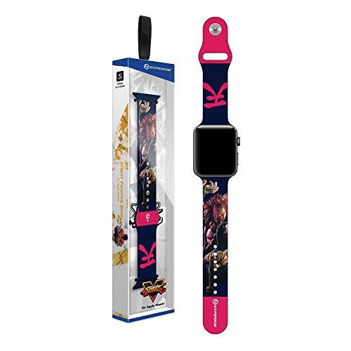 Hyperkin Street Fighter Raging Demon Band for Apple WATCH - Officially Licensed By Capcom - Mac