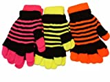 Socks Uwear Pack 3 Unisex Neon-Strick-Handschuh & Topflappen-Set