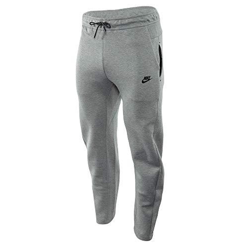 Nike Mens M NSW TCH FLC PANT OH Sport Trousers dk Grey HeatherDark GreyBlack 2XL