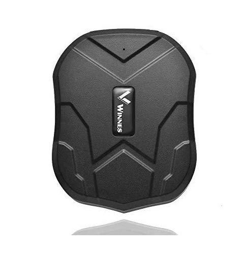 Localizador GPS,Rastreador GPS 5000mAh para Coche Real Antirrobo Impermeable Fuerte imán GPS Tracker App Gratuita para Seguimiento Vehículo TK905