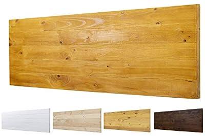 Color: Roble. Medidas: 145 cm de largo y 60 cm de ancho. Para camas de 110 cm , 135 cm 🌲LOS MATERIALES DE NUESTROS PRODUCTOS 🌲: Nuestros productos son fabricados con madera nueva maciza de pino de 1ª calidad. 🌲DECORACIÓN INIGUALABLE🌲: Con los palets ...