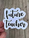 Future Teacher Sticker, Laptop Sticker, Water Bottle Sticker, Phone Sticker, Window Sticker, Teaching Sticker, The Future Sticker