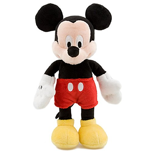 Mini Bean Bag Mickey Mouse Plush Toy -- 9'' H
