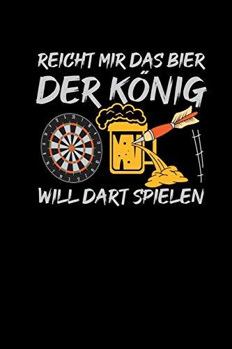 Bier König Dart Spielen: Kalender 2020 Monatsübersicht A5 Dartspieler Dart-Fans Darter Geschenk