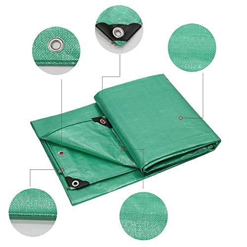Grote val voor resistente dekzeil Matrashoes Matrashoes Stoffen gordijn Gezamenlijke Luifel Zonnescherm Visor Regenbestendige Picknick mat Auto cover-Green, 160G / M2 (Maat: 3 * 6m)
