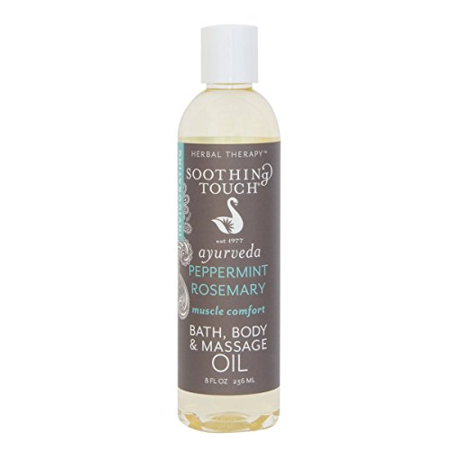 Soothing Touch W67366MC Bath and Body Oil Muscle Comfort, 8-Ounce by Soothing Touch