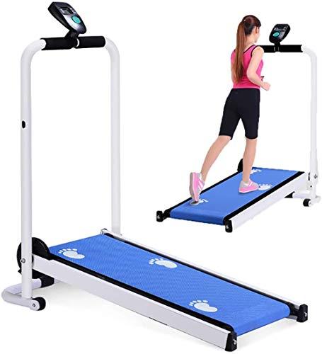 LUHUIYUAN Laufband Mini-Maschine Fuß von zu Hause Laufband Laptop mit mechanischem Roller, Laufband Fitness Outfit für Mechanik Strom Strom