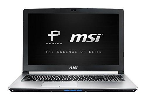 MSI PE60-6QEi78H21 0016J5-SKU3 39,6 cm (15,6 Zoll) Laptop (Intel Core-i7 6700HQ-HM170, 8GB RAM, 256GB SSD, 1TB HDD, NVIDIA Geforce GTX 960M, Win 10 Home) silber