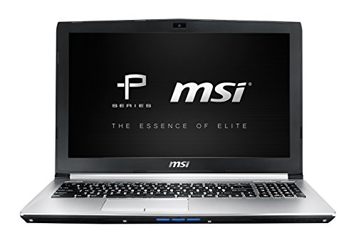 MSI PE60-6QEi78H21 0016J5-SKU3 39,6 cm (15,6 Zoll) Laptop (Intel Core-i7 6700HQ-HM170, 8GB RAM, 256GB SSD, 1TB HDD, NVIDIA Geforce GTX 960M, Win 10 Home) silber