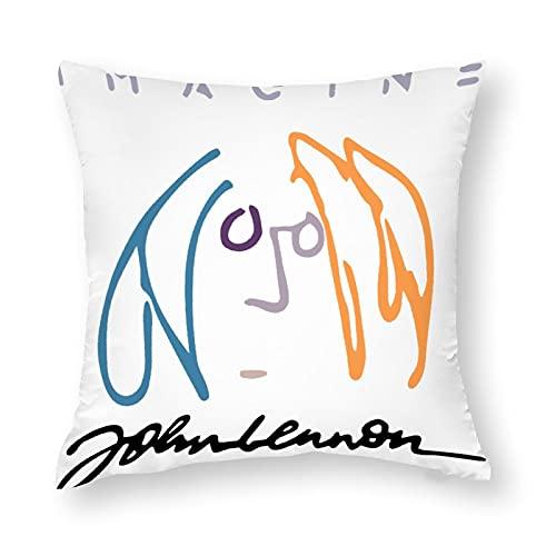 ジョン レノン クッションカバー 抱き枕カバー 座布団カバー 創意 デザイン やわらか おしゃれ 無地 安眠枕カバー 休憩枕カバー 寝装 寝具小物 9サイズ 中身なし 両面プリント