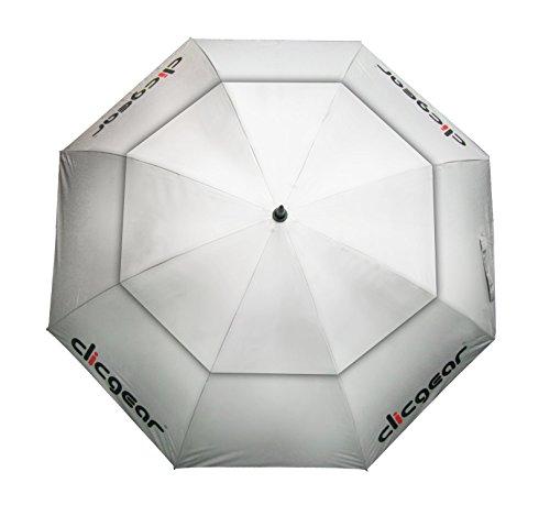 """Clicgear Double Canopy 68"""" Umbrella (Silver)"""