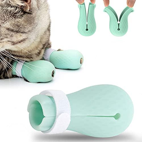 Borsa da bagno per gatti Anti-Grab Ocean Blue per unghie per iniezione da barba per animali domestici
