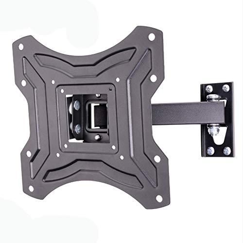 Amazon Basics - Soporte de pared inclinable y giratorio con un solo brazo, para televisión, de 58,4 a 127 cm (23-50'), gama Essentials