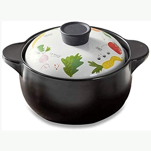 Healthy Cookware Stock Pot Olla de cerámica para cazuela de cerámica de...
