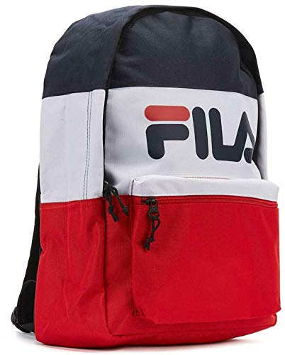 Fila Arda 6416 Retro Colour Block Backpack Red