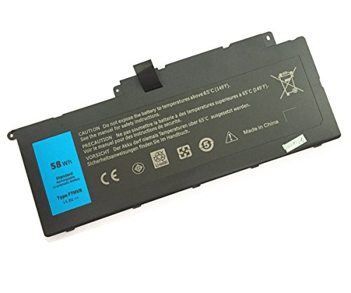 7xinbox 14.8V 58WH F7HVR Replacement Battery for Dell Inspiron 17 7737 Inspiron 15 7537 Series G4YJM 062VNH T2T3J