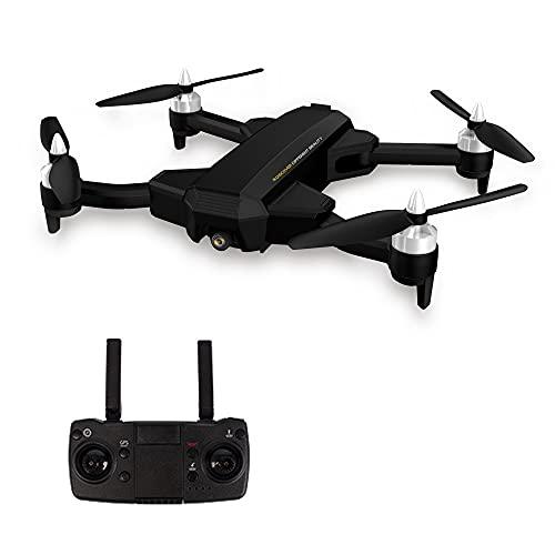 LIZHOUMIL Dron GPS con motor sin escobillas, 5G WiFi FPV RC profesional con 6K EIS 1080P HD, cámara de vídeo en tiempo real, transmisión en tiempo real RC Quadcopter versión maleta