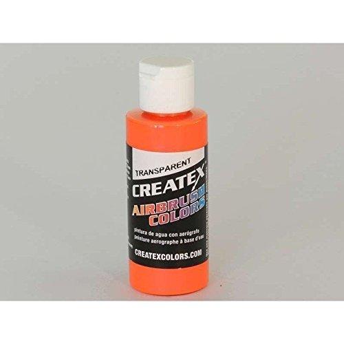 Createx Airbrush Paint, Transparent Orange, 2 oz (5119-02) by Alv