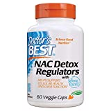 Doctor's Best NAC Detox Regulators with Seleno Excell, Non-GMO,...