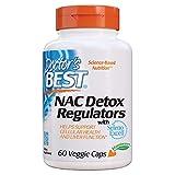 Doctor's Best | NAC Detox Regulators mit SelenoExcell | 60 vegane Kapseln | glutenfrei