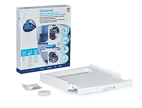 Care+Protect - Kit de unión Universal de lavadoras y secadoras con Bandeja corredera - para Productos de Entre 47cm-62cm