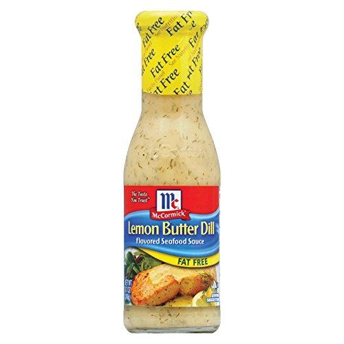 Golden Dipt Fat-Free Lemon Butter Dill Sauce, 8.7 ounce – 6 Per Case.