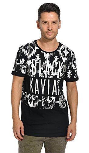 Black Kaviar - GEYDAI - T-Shirt Herren - schwarz 06060147S - S, Schwarz
