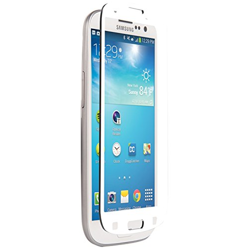 Nitro Displayschutzfolie aus Glas für Samsung Galaxy SIII, Weiß, 1 Stück