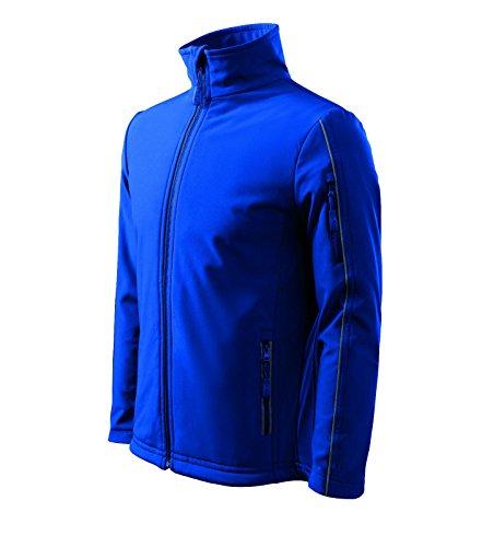 Adler Herren Softshelljacke/Regenjacke Jacke regendicht Winddicht luftdurchlässig (XL, königsblau)