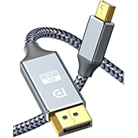 Capshi Thunderport 2 to Displayport Super Nylon Braid Gold-Plated Cable