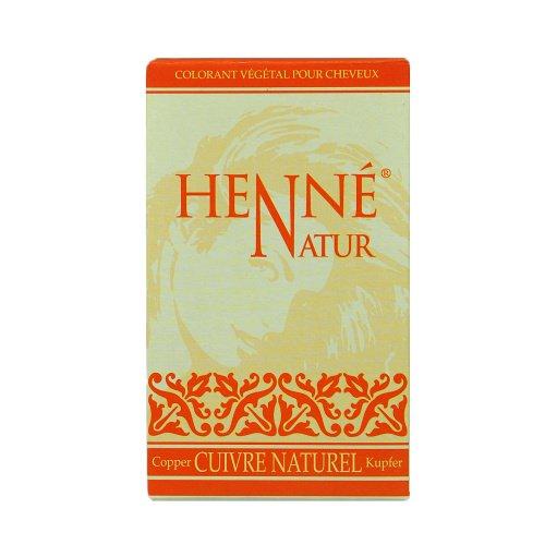 Henne Coloration poudre au henné Cuivre naturel