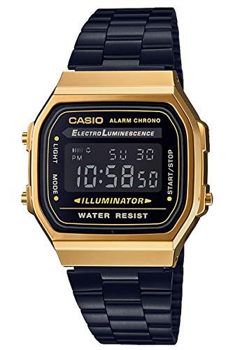 [カシオ] 腕時計 スタンダード A168WEGB-1BJF ブラック