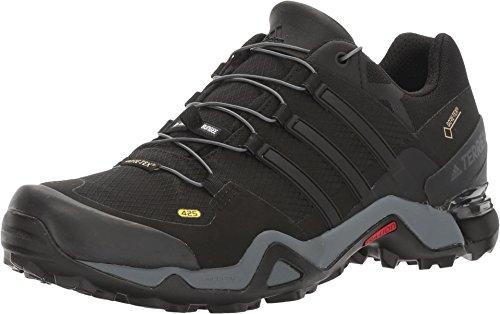 adidas Men's Terrex Fast R GTX Black/Black/White Athletic Shoe