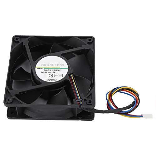 Ventilateur de processeur PWM, ventilateur Bewinner DC12V 1.6A avec double roulement à billes et ventilateur stable et silencieux pour un refroidissement extrême Ventilateur de refroidissement PWM Cpu