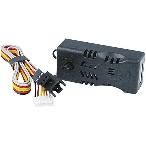 GELID SOLUTIONS Controller della velocità della Ventola - Controllo Manuale della velocità da Piena a Bassa velocità - Dimensioni 62x 25x 19 (mm)