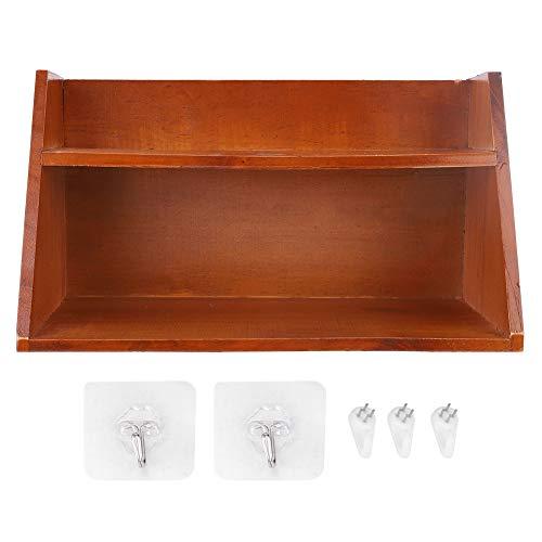 Caja De Almacenamiento De Escritorio, Caja De Almacenamiento Retro De Gran Capacidad De Dos Capas para Escritorio para El Hogar