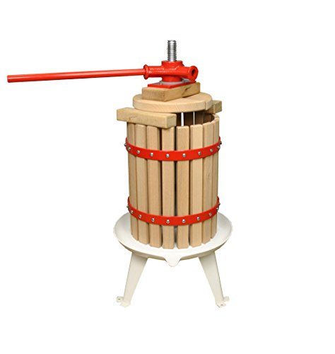Selections GF7538 Traditional Fruit and Apple Press (6 Litre) with Straining Bag