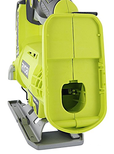 Product Image 9: Ryobi One+ P523 18V Lithium Ion Cordless Orbital T Shank 3,000 SPM Jigsaw (Battery Not Included, Power Tool and T Shank Wood Cutting Blade Only)