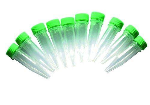 GEO-VERSAND Nano mit Schraubverschluss, farblich sortiert, 10 Stück