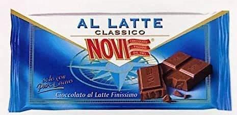 Novi Tavoletta al Latte Finissimo, Senza Glutine - 80 g