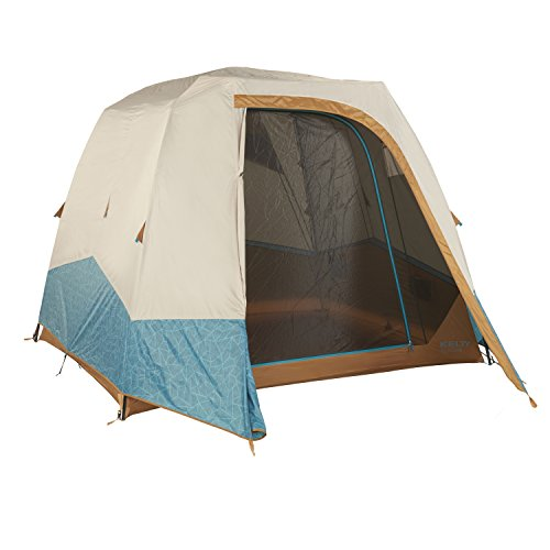 Kelty Sequoia 4 and 6 Person Camping Tents, Deep Teal/Canyon Brown, 4 Person