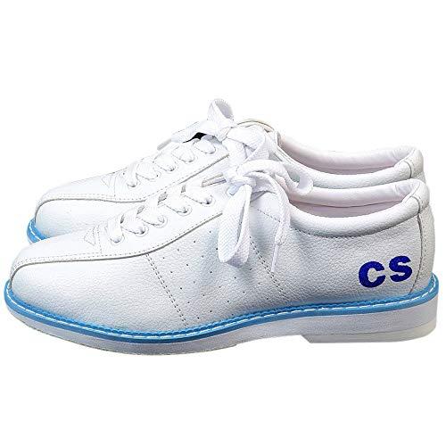 JJK Frauen Der Männer Bowling-Schuhe, Leichte Leder Bowls Schuhe Lace Up Flache Sohle Bowling Sneaker Für Erwachsene Und Kinder,34