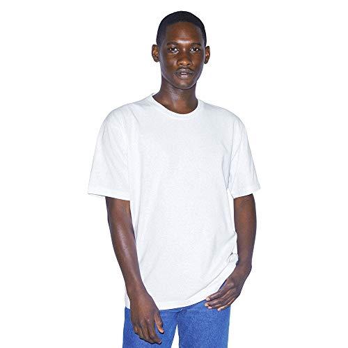 American Apparel Unisex-Erwachsene Heavy Jersey Box Short Sleeve T-Shirt, Weiß, X-Groß