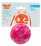WEST PAW Zogoflex Air Boz Dog Toy – Floatable Pet Ball for Dogs, Fetch, Play, Chewing – Non-Toxic, Recyclable, Latex-Free Canine Toys – Durable Exterior Texture, Bouncy Squishy Ball, Small, Currant