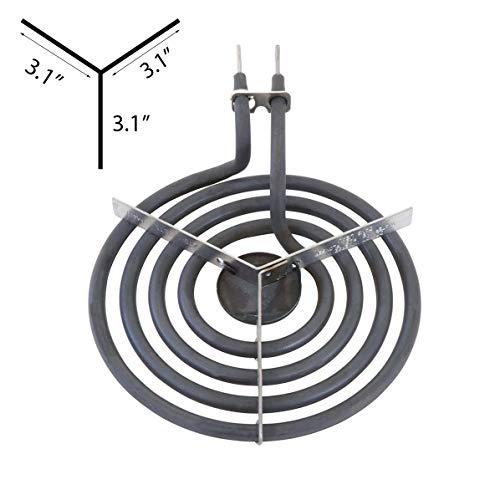Kitchen Basics 101: 4 Piece Set MP31YA Electric Range Burner Surface Element (3) MP15YA 6